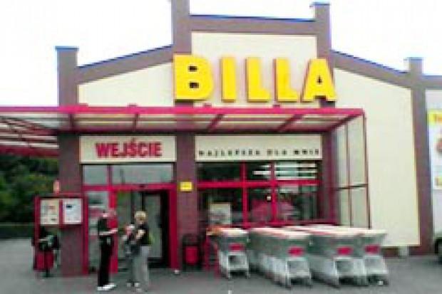 Billa chce mieć 70 sklepów na koniec 2010 r.