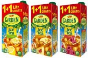 Rodzinne ice tea marki Garden