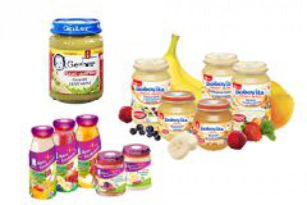 Rośnie rynek żywności dla małych dzieci
