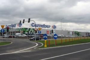 Pierwszy hipermarket Carrefour w Mławie