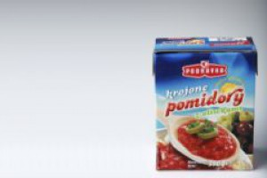 Krojone pomidory dobre na przekąskę