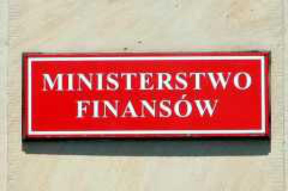 Ministerstwo Finansów może obniżyć prognozę PKB na 2009, a podnieść - inflacji na 2008 r.