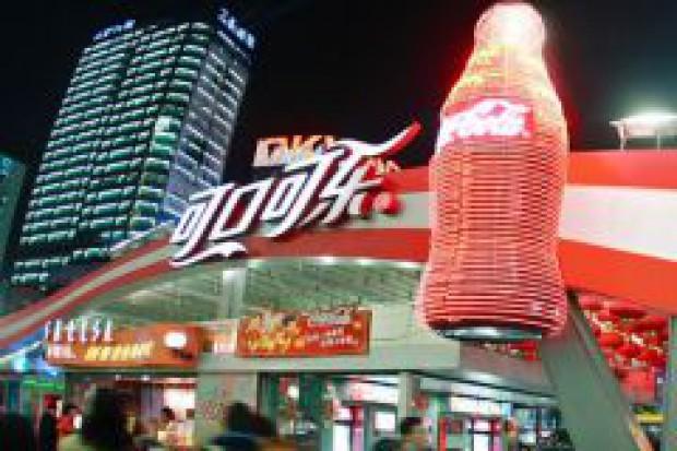 Za 2,3 mld USD Coca-Cola dwukrotnie zwiększy udział w chińskim rynku soków