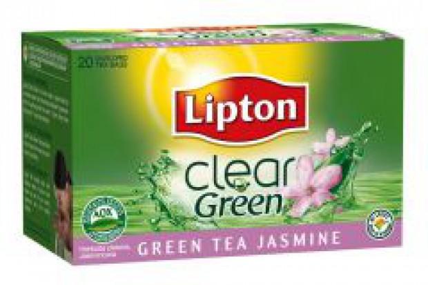 Lipton odświeża zielone herbaty