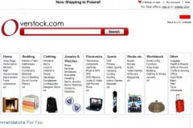 Overstock.com - wielki amerykański outlet zaczyna sprzedaż w Polsce