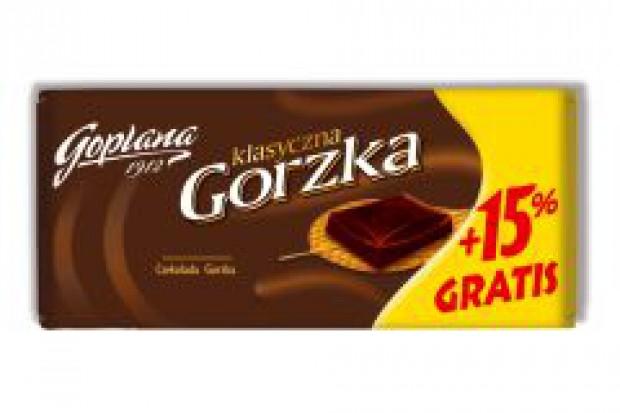 Goplana powiększa czekolady
