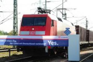 Deutsche Bahn przewiezie pociągiem towary do Chin