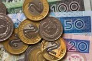 Złoty osłabł, trwa wyprzedaż obligacji, awersja do ryzyka jest wysoka
