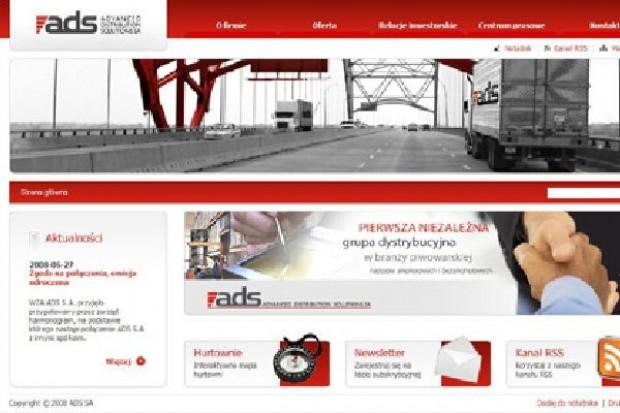 ADS nie weryfikuje prognoz i zapewnia, że osiągnie planowane 610 mln zł przychodów