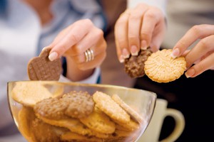 Jedz ciastka na zdrowie