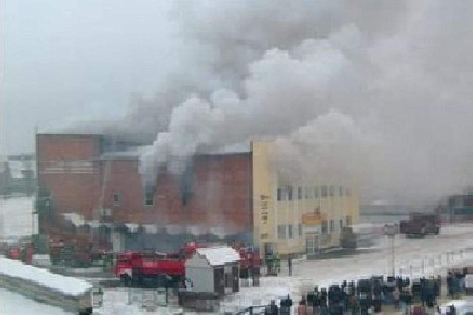 Spłonął sklep Biedronka na Dolnym Śląsku