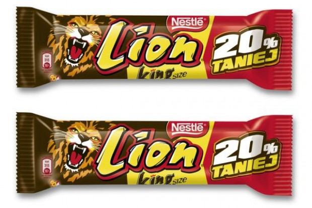 LION King Size 20 proc. taniej