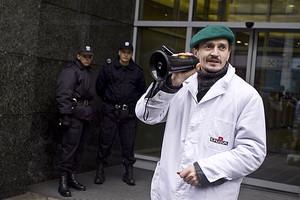 Zdjęcie numer 1 - galeria: Pracownicy Duda Bis: Cel naszego protestu został osiągnięty