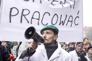 Zdjęcie numer 4 - galeria: Pracownicy Duda Bis: Cel naszego protestu został osiągnięty