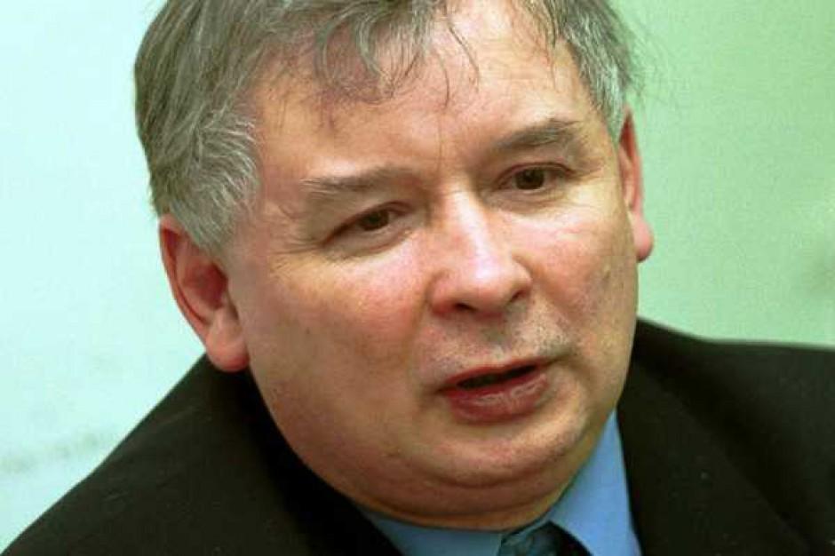 Jarosław Kaczyński: Międzynarodowy kryzys finansowy dotyka polskiej gospodarki