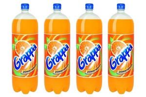 Grappa pomarańczowa w większej butelce