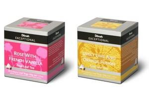 Różnorodność nowych herbat Dilmah