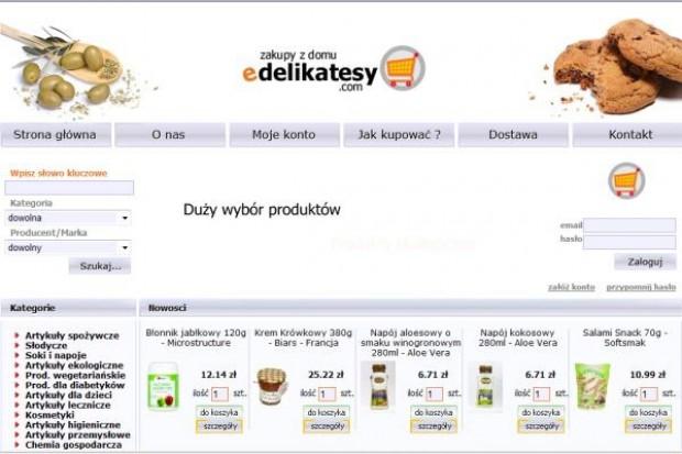 edelikatesy.com zwiększają obroty o 70 proc, i planują uruchomieni e nowego e-sklepu