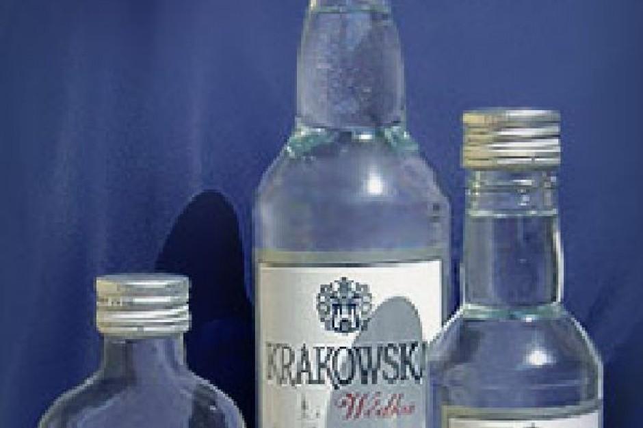 Sprzedaż wódki w Polsce gwałtownie spada