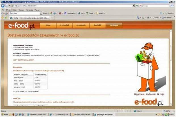 Rusza pierwsza internetowa sieć franczyzowa z żywnością