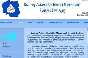 Prezes KZSM: Pracujemy nad konsolidacją mleczarstwa i większym wykorzystaniem PROW