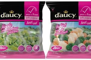 innowacyjne warzywa mrożone od firmy d'aucy