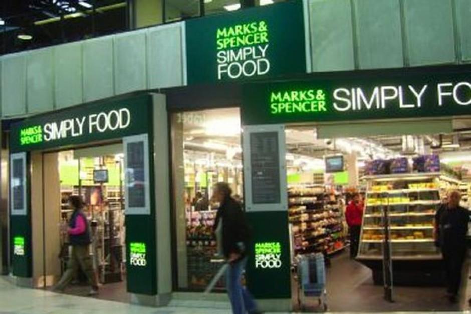 Marks & Spencer rośnie dzięki spożywce
