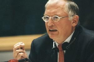 Komisarz UE Günter Verheugen przyjeżdża na Śląsk