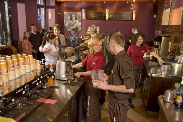 Coffeeheaven nie obawia siÄ™ konkurencji ze strony Starbucksa
