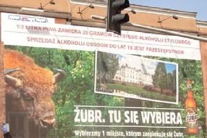 Piwo Żubr będzie się reklamowało na pociągach PKP