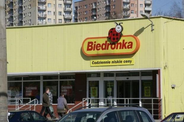 Sprzedaż sieci Biedronki wzrosła o 5,2 proc.