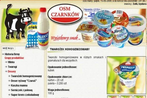 Prezes OSM Czarnków: Eksport mleka w proszku nie pokrywa kosztów