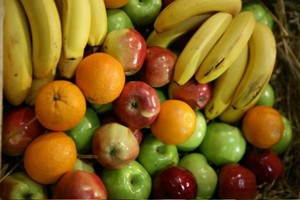 Spada spożycie warzyw i owoców