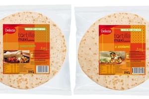 Tortilla z ziołami bądź pieprzem