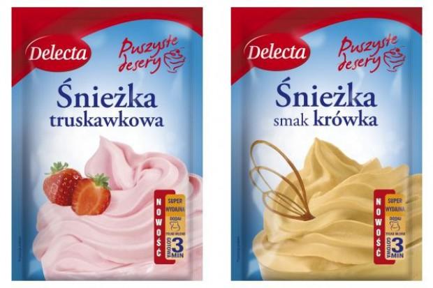 Delecta poszerza ofertę o desery truskawkowe i o smaku krówki