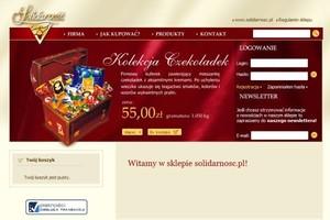 Solidarność inwestuje w sieć pijalni czekolady i urachamia sklep internetowy