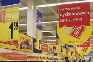 Tesco wprowadza do swoich sklepów 300 nowych produktów