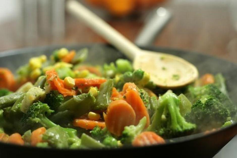 O 14 proc. zmalała produkcja mrożonych warzyw