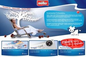Muller uruchomił polską stronę internetową