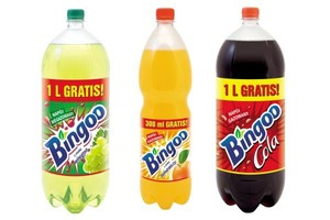Nowy image napojów Bingoo