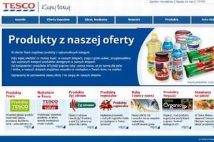Tesco odświeży stronę swojego e-sklepu i chce wejść z handlem internetowym na nowe rynki