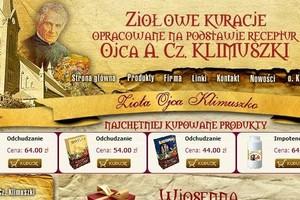 UOKiK kwestionuje reklamy ziół z Zielarni Ojca Klimuszko