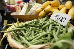 Deszczowa pogoda nie grozi na razie gwałtownym wzrostem cen żywności