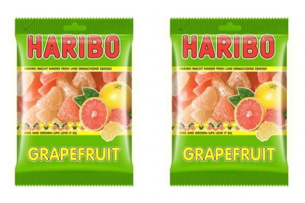 Naturalnie grejpfrutowe żelki Haribo
