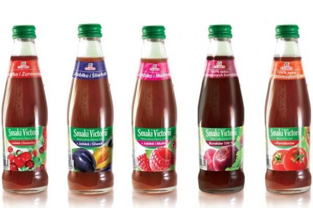Nowa seria soków: Smaki Victorii