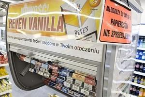 Sklepy wkrótce będą notować spadki sprzedaży papierosów
