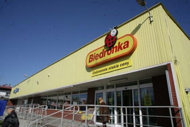 Sprzedaż w polskich Biedronkach wzrosła w I półroczu o 33 proc.