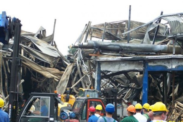 Prokuratura: Nie ma dowodów, że zakład w Łysych podpalono