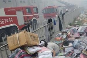 Straty po pożarze centrum handlowego pod Nadarzynem idą w miliony