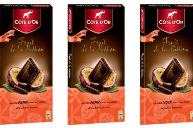 Côte d'Or proponuje gzotyczne połączenie: ciemna czekolada i marakuja